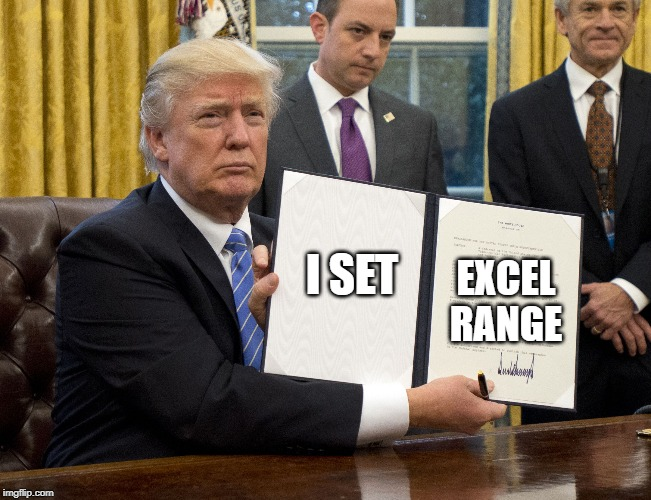 declare Excel range in VBA