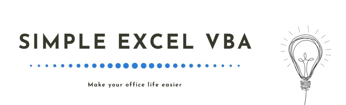 Simple Excel VBA