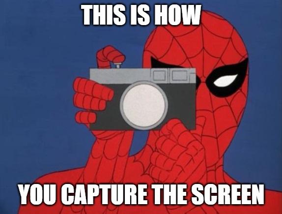 make print screen of worksheet spiderman