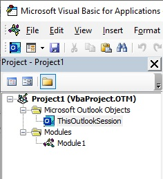 check Outlook inbox automatically thisoutlooksession