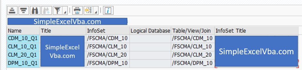 How to deal with SAP tables - part 1 table