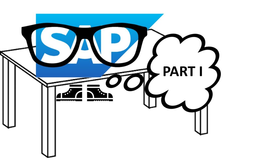 How to deal with SAP tables - part 1