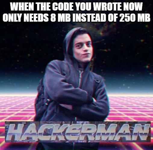 Split array to increase performance hackerman